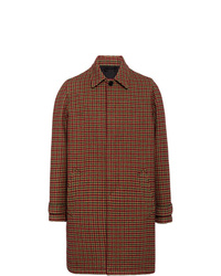 Prada Checked Coat