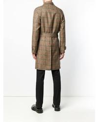 Paltò Checked Single Breasted Coat