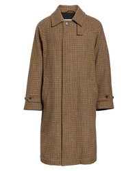 MACKINTOSH Gents Gun Club Check Virgin Wool Coat
