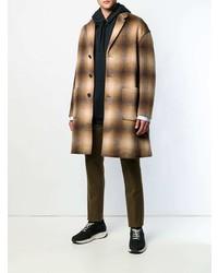 N°21 N21 Checked Single Breasted Coat