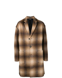 N°21 N21 Checked Single Breasted Coat