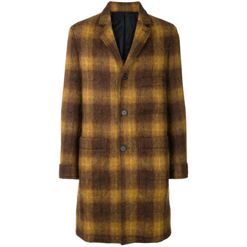 AMI Alexandre Mattiussi Patch Pockets Coat