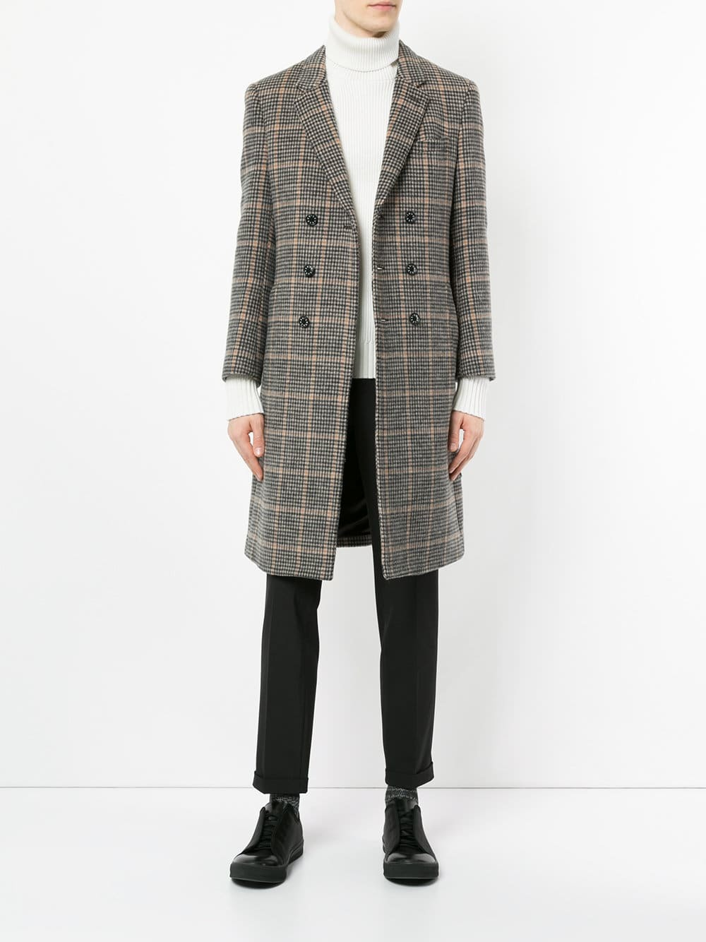 Loveless Straight Fit Buttoned Coat