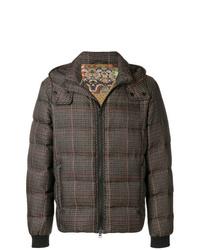 Etro Check Padded Jacket