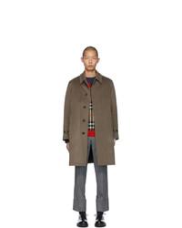Burberry Brown Cashmere Pimlico Coat