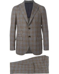 Eleventy Checked Suit