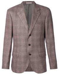 Brunello Cucinelli Checked Blazer