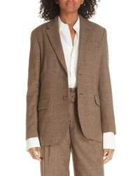 Polo Ralph Lauren Houndstooth Check Wool Blend Blazer