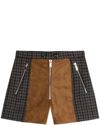 Wool blend shorts medium 344896