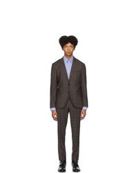 Hugo Beige Artihesten 193 Check Suit