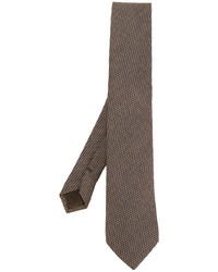 Church's Micro Check Pattern Tie