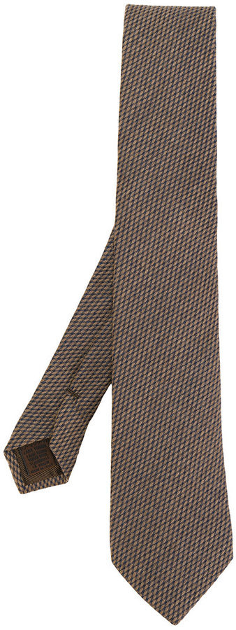 Church's Micro Check Pattern Tie