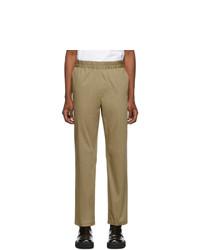 Acne Studios Acne S Beige Cotton Paco Trousers