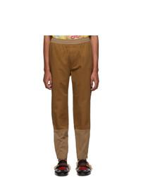 Gucci Brown Cotton Drill Trousers