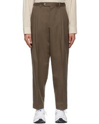 mfpen Brown Scene Trousers