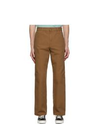 CARHARTT WORK IN PROGRESS Brown Single Knee Trousers