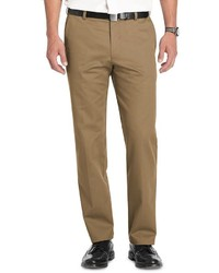 Izod Heritage Chino Straight Fit Wrinkle Free Flat Front Pants