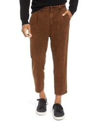 Hudson Jeans Hudson Pleated Cropped Pants