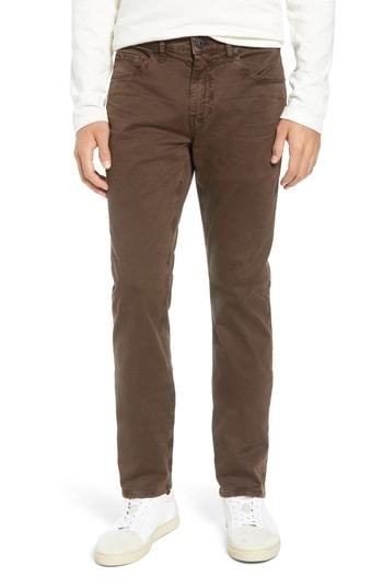 Paige Lennox Slim Fit Five Pocket Pants