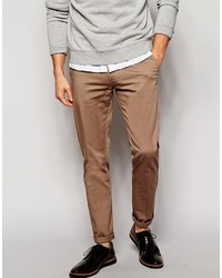 Selected Smart Chinos In Skinny Fit