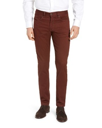 Bugatchi Straight Leg Five Pocket Pants