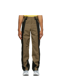 AFFIX Tan And Black Duo Tone Work Trousers