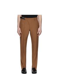 1017 Alyx 9Sm Tan Stirrup Suit Trousers