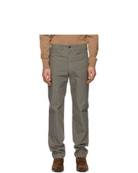 Lemaire Taupe Tapered 5 Pocket Trousers