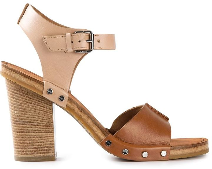 ... Marc by Marc Jacobs Chunky Heel Sandals
