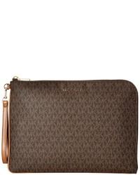 4be64b8d2468c6 ... MICHAEL Michael Kors Michl Michl Kors Mercer Large Tech Zip Clutch  Clutch Handbags