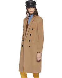 Gucci Baby Camel Hair Double Breasted Coat