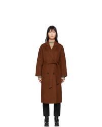 The Loom Brown Wool Double Coat