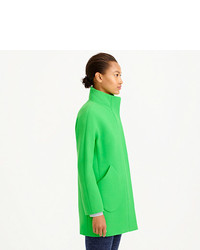J.Crew Double Cloth Patch Pocket Cocoon Coat   Where to buy & how ...