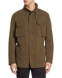 Vince Hooded Army Coat