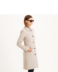 J Crew Italian Double Cloth Wool Lady Day Coat With Thinsulate 378