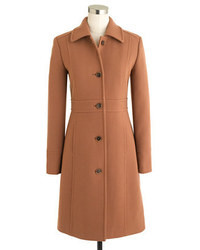 Italian double cloth wool lady day coat with thinsulate medium 4642