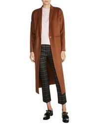 Long double face wool blend coat medium 5259997