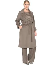 Marina Rinaldi Belted Wool Coat