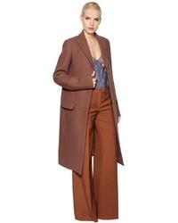 Nina Ricci Stretch Felted Wool Coat