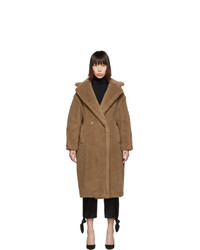 Max Mara Tan Teddy Bear Icon Coat