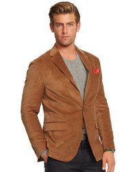 Brown Corduroy Blazer | Men's Fashion