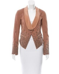 Embellished corduroy blazer medium 5387692
