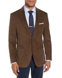 Jkt New York Trim Fit Stretch Cotton Corduroy Sport Coat