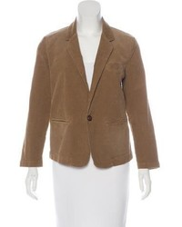 Current/Elliott Notch Lapel Corduroy Blazer