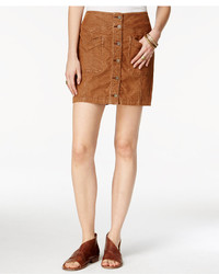 Free People Come Closer Corduroy Mini Skirt