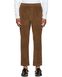 Barena Brown Corduroy Trousers