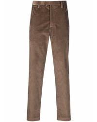 Emporio Armani Corduroy Straight Leg Trousers