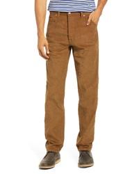 Drake's Selvedge Cotton Corduroy Five Pocket Pants