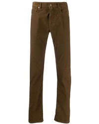 Incotex Sky Corduroy Slim Fit Trousers
