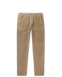 Altea Slim Fit Tapered Cotton Corduroy Trousers